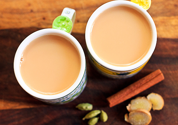 Coriander Indian Masala Tea